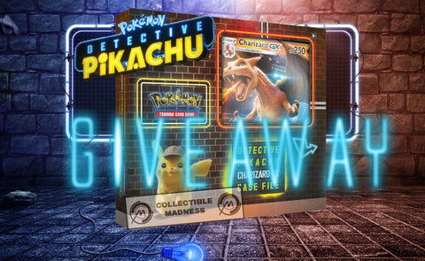 Detective Pikachu Charizard-GX Special Case File GIVEAWAY