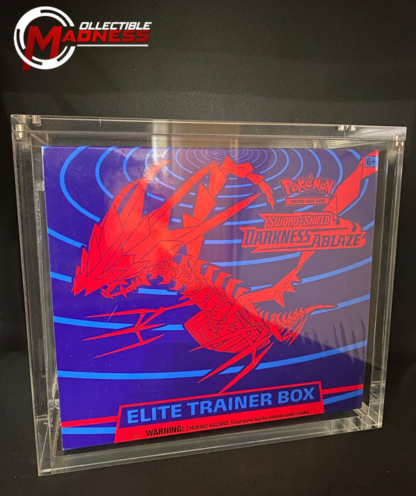 Acrylic Storage and Protection Case - Elite Trainer Box | Magnetic Lid