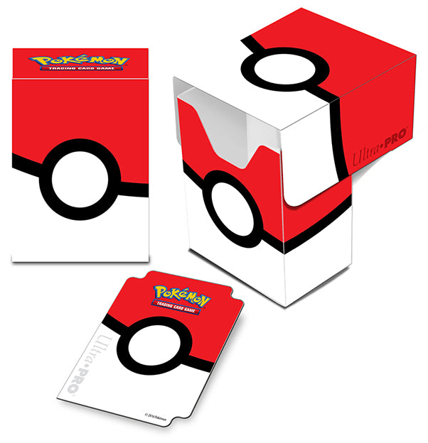 ULTRA PRO - Pokémon - Pokéball - Full View Deck Box