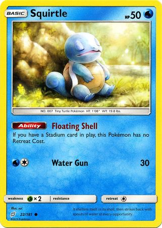 022 / 181 Squirtle - Common