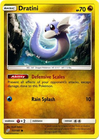117 / 181 Dratini - Common