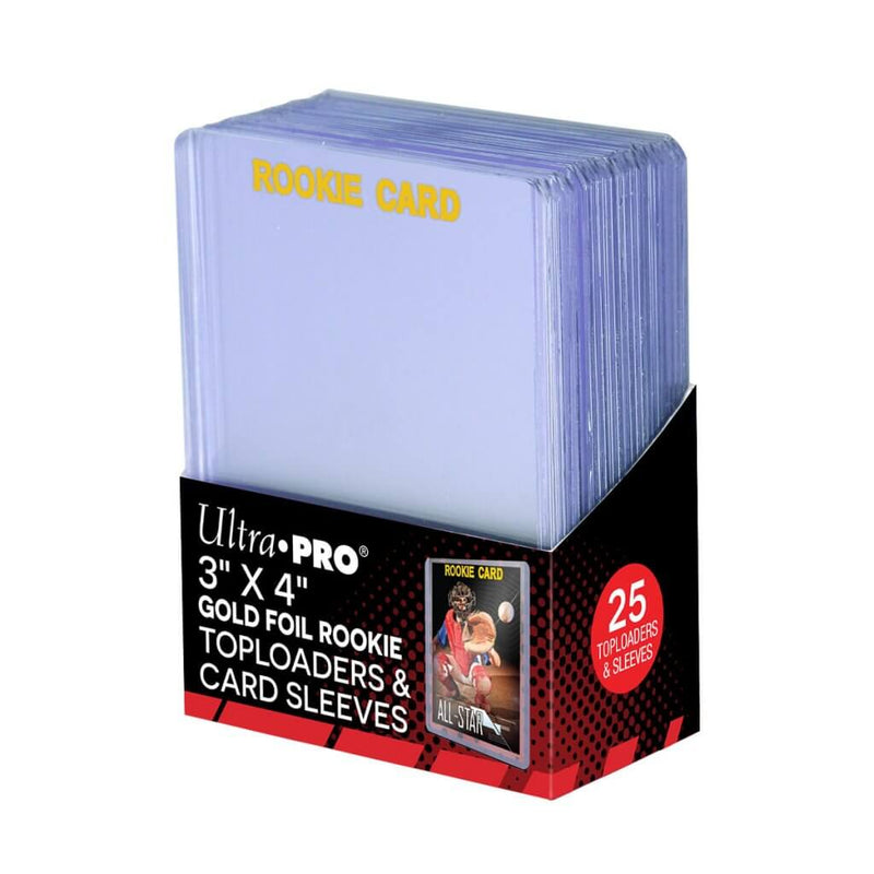 ULTRA PRO Top Loader - 3x4 Rookie 35pt. Toploader w/card Sleeve 25ct