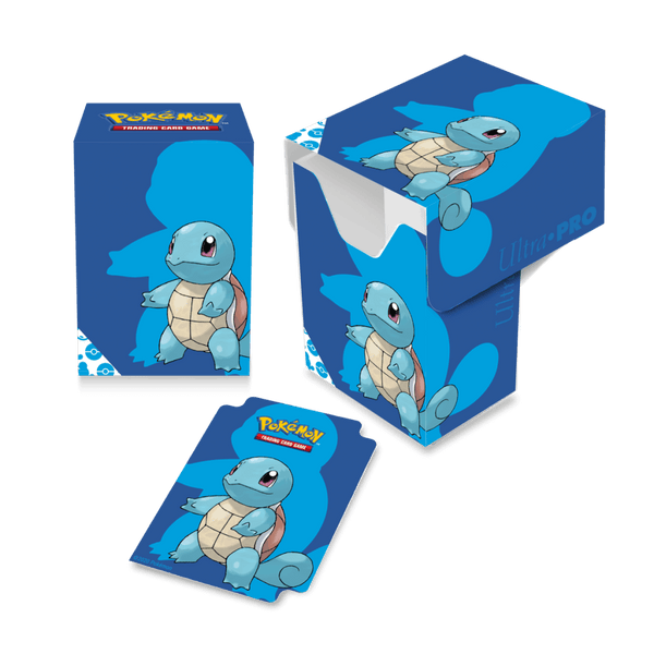 ULTRA PRO Pokémon - Full View Deck Box- Squirtle