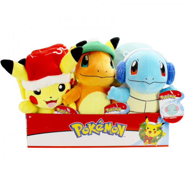 POKEMON PLUSH SEASONAL HOLIDAY - 8""