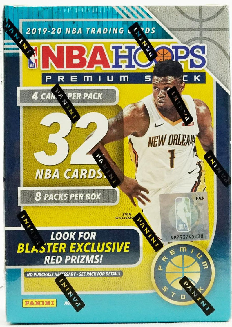 PANINI 2019-20 NBA Hoops Premium Basketball Blaster Box Options
