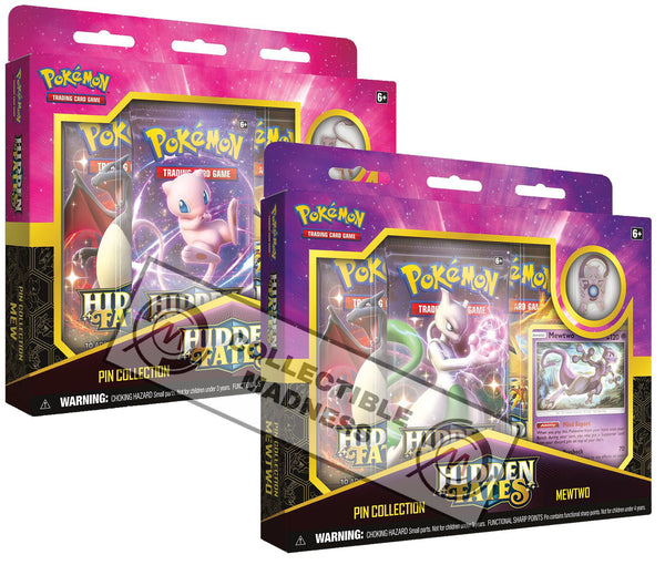 Pokemon - TCG - Hidden Fates Pin Collection