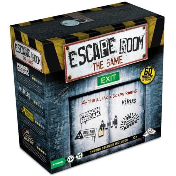 Escape Room The Game - 4 Room Plus Chrono Decoder