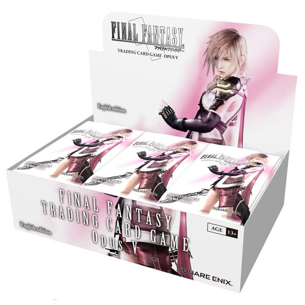 Final Fantasy Trading Card Game Opus V Booster Box