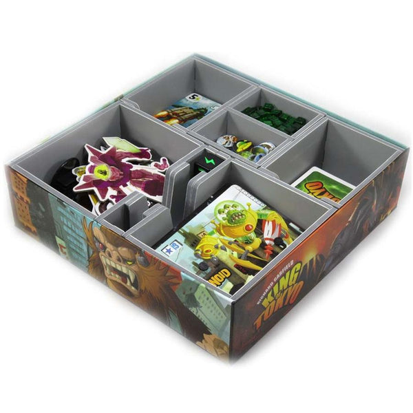 Folded Space Game Inserts - King Of Tokyo