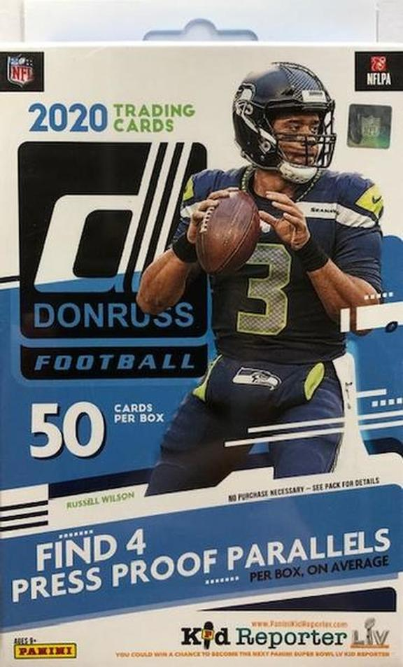 PANINI 2020 Donruss Football Hanger Box Options