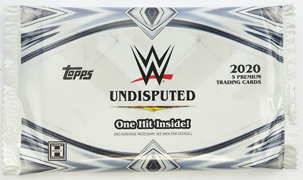 TOPPS WWE 2020 Undisputed Hobby Trading Card Pack