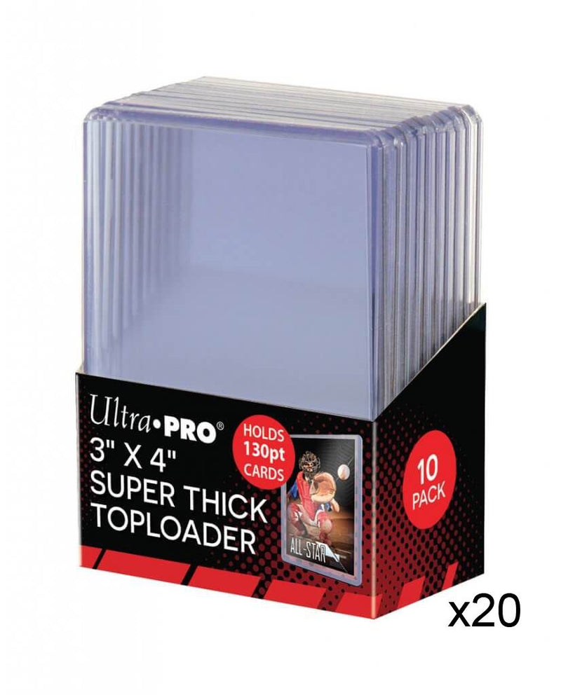 "ULTRA PRO Top Loader - 3 x 4"" 130pt Regular Clear"
