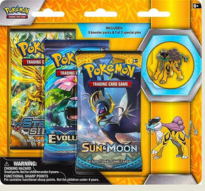 Pokemon - TCG - Raikou, Entei or Suicune 3Pk Pin Blister