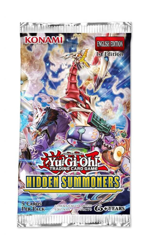 YU-GI-OH! - TCG - Hidden Summoners Booster Pack Options