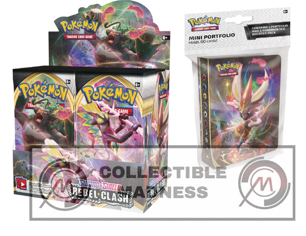 Pokemon - TCG - Rebel Clash Booster Box Bundle #4