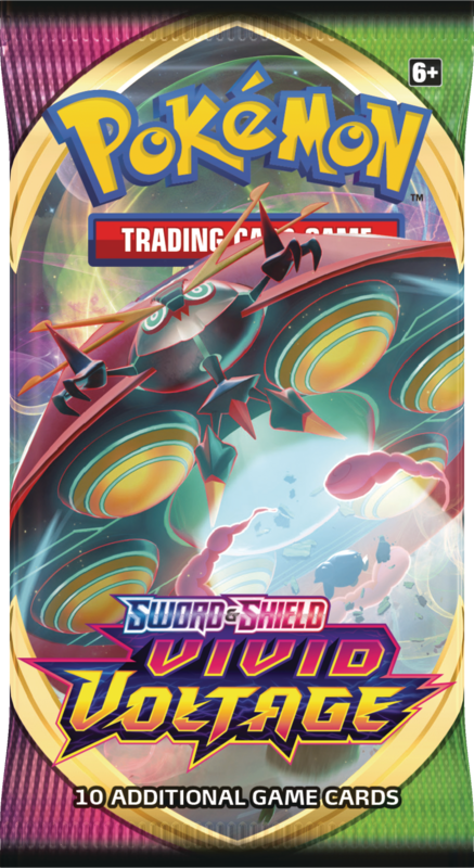 Pokemon - TCG - Vivid Voltage Booster Pack Options