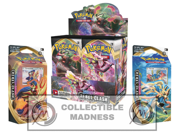 Pokemon - TCG - Rebel Clash Booster Box Bundle #3