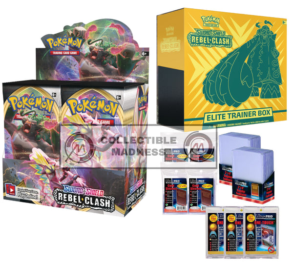 Pokemon - TCG - Rebel Clash Booster Box Bundle #9