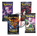 Pokemon - TCG - Hidden Fates Booster Pack Options