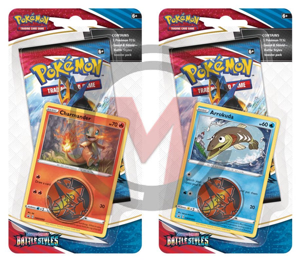 Pokemon - TCG - Battle Styles Checklane Blister