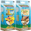Pokemon - TCG - Sun & Moon - Let's Play, Pikachu & Eevee Theme Decks