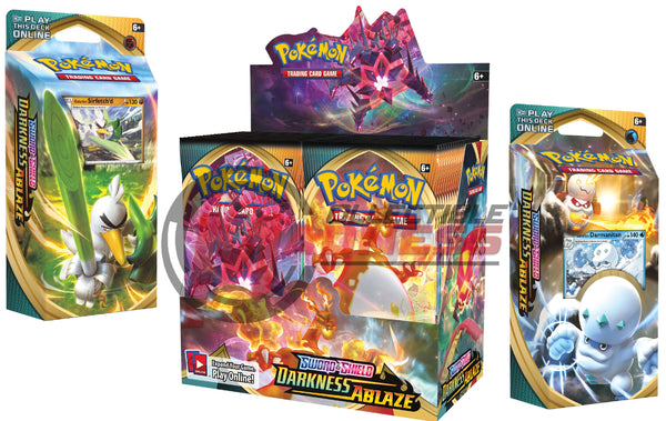 Pokemon - TCG - Darkness Ablaze Booster Box Bundle #3