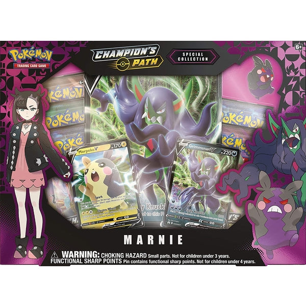 Pokemon - TCG - Champions Path Special Collection—Marnie Box