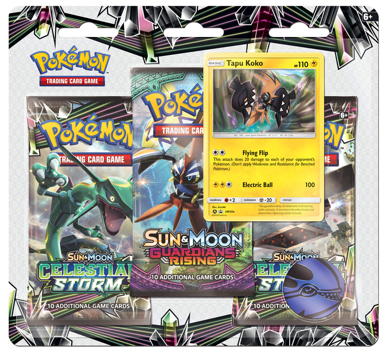 Pokemon - TCG - Celestial Storm Three Booster Blister