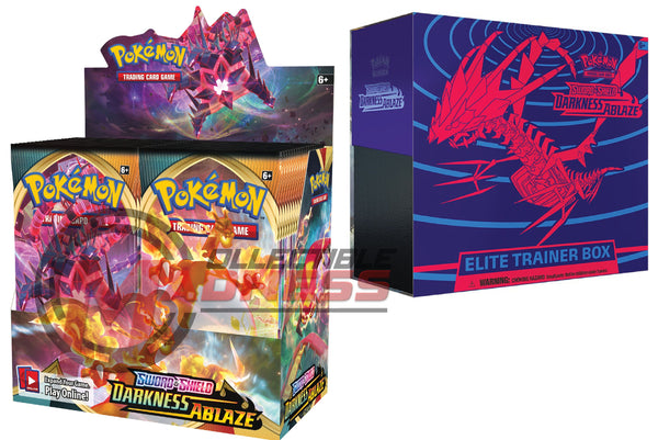 Pokemon - TCG - Darkness Ablaze Booster Box Bundle #5