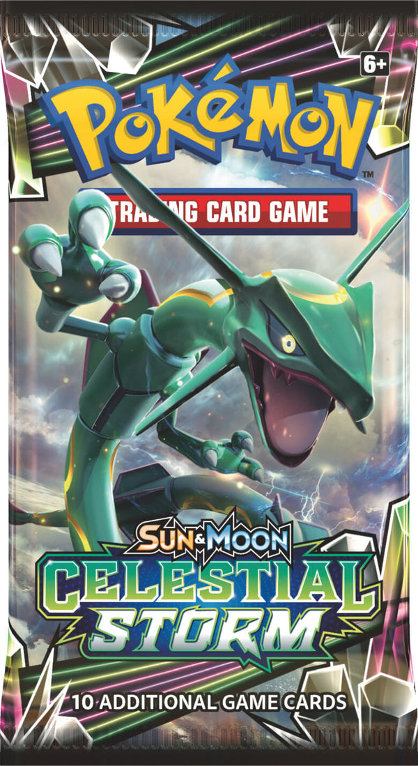 Pokemon - TCG - Celestial Storm Booster Pack Options