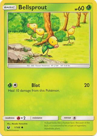 001 / 168 Bellsprout - Common