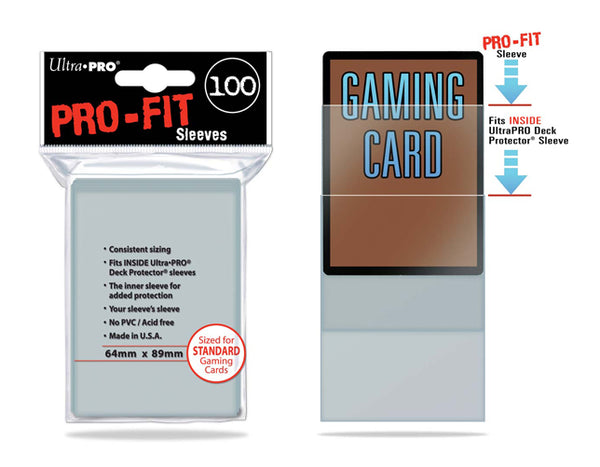 ULTRA PRO Card Sleeves - Pro-Fit Standard