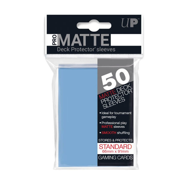 ULTRA PRO Deck Protector - Pro-Matte 50ct Light Blue