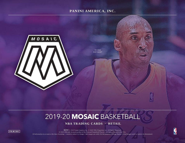 PANINI 2019-20 Mosaic Basketball Mulit-Pack Box Options