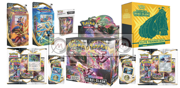 Pokemon - TCG - Rebel Clash Booster Box Bundle #8