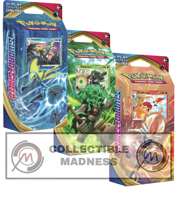 Pokemon - TCG - Sword & Shield Base Set Theme Deck