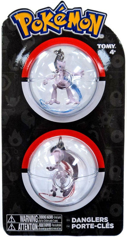Pokemon Danglers 2 Pack - Mewtwo X & Y