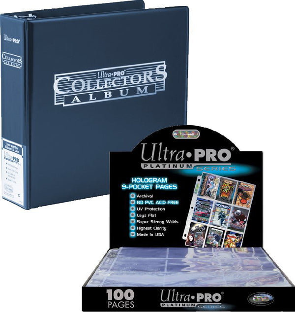ULTRA PRO -  Collectors Album Bundle