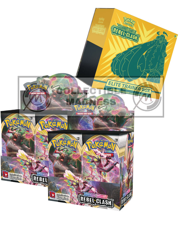 Pokemon - TCG - Rebel Clash Booster Box Bundle #6