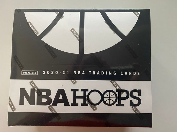 PANINI 2020-21 NBA Hoops Basketball Fat Pack Box