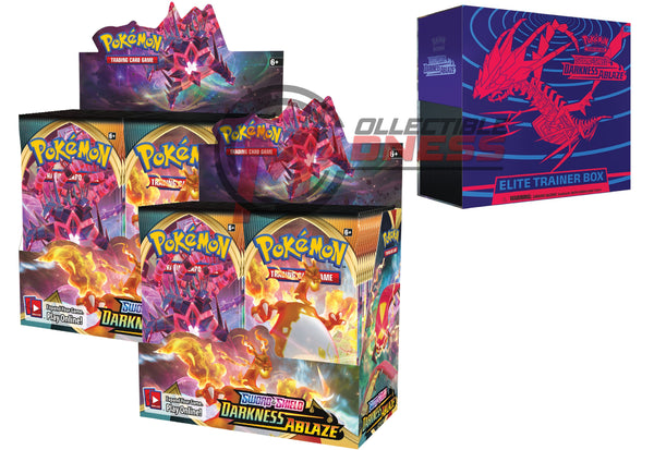 Pokemon - TCG - Darkness Ablaze Booster Box Bundle #6