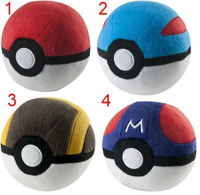 Pokemon Pokeball Plush Assortment D