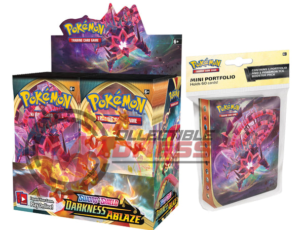 Pokemon - TCG - Darkness Ablaze Booster Box Bundle #4