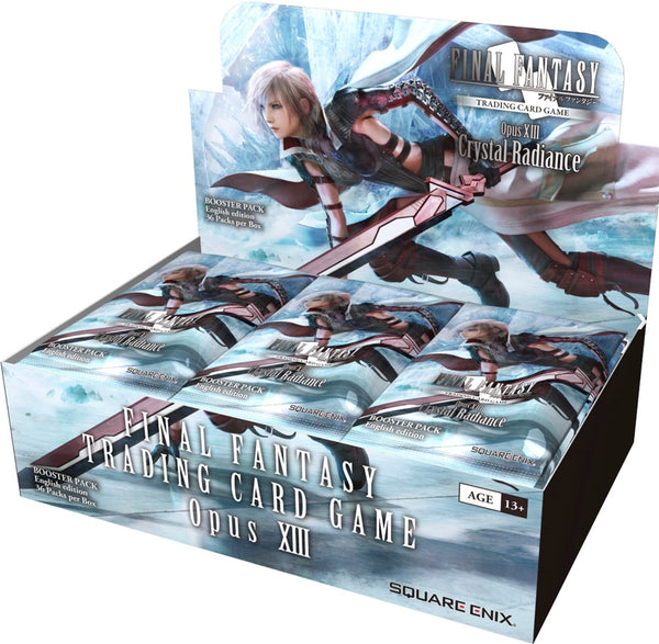 Final Fantasy Trading Card Game Opus XIII Booster Box