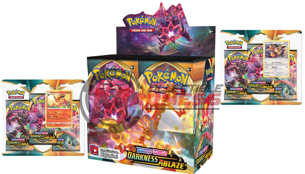 Pokemon - TCG - Darkness Ablaze Booster Box Bundle #1