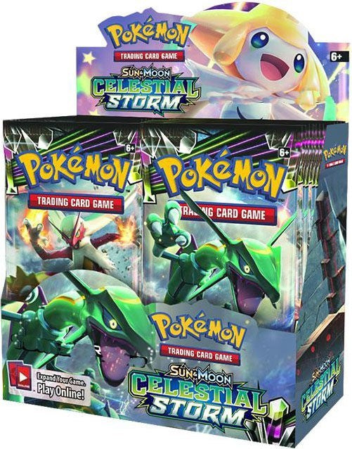 Pokemon - TCG - Celestial Storm Booster Box Options