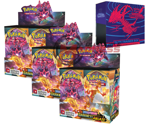 Pokemon - TCG - Darkness Ablaze Booster Box Bundle #7