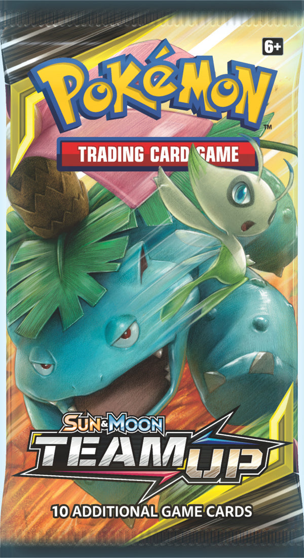 Pokemon - TCG - Team Up Booster Pack Options