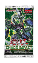 YU-GI-OH! TCG Chaos Impact 9 x card Booster Box Options