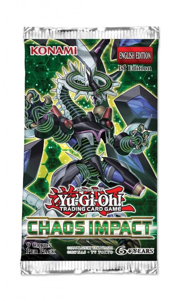 YU-GI-OH! - TCG - Chaos Impact 9 x card Booster Pack Options